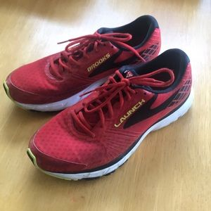 Brooks Launch athletic shoes